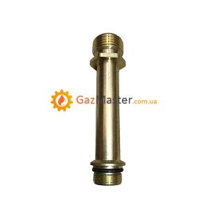 """Фото - Трубка подачи воды для китайской газовой колонки """"прямая"""" большая.,"""