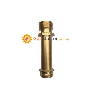 """Фото - Трубка подачи воды для китайской газовой колонки """"прямая"""" малая,"""