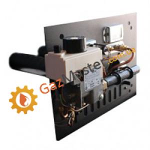 Фото - Газогорелочное устройство ФЕНИКС 16 кВт для бытовых печей с двумя горелками,