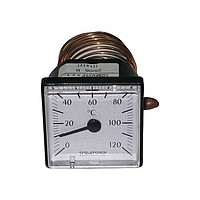 Термометр квадратный 45х45 IMIT