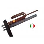 Тэн ARISTON (АРИСТОН) 2 кВт медный с фланцем,прокладкой и итальянским анодом