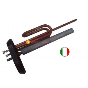 Фото - Тэн ARISTON (АРИСТОН) 2 кВт медный с фланцем,прокладкой и итальянским анодом,